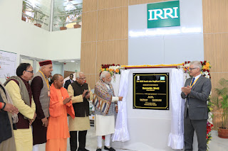 PM Inaugurates International Rice Research Institute