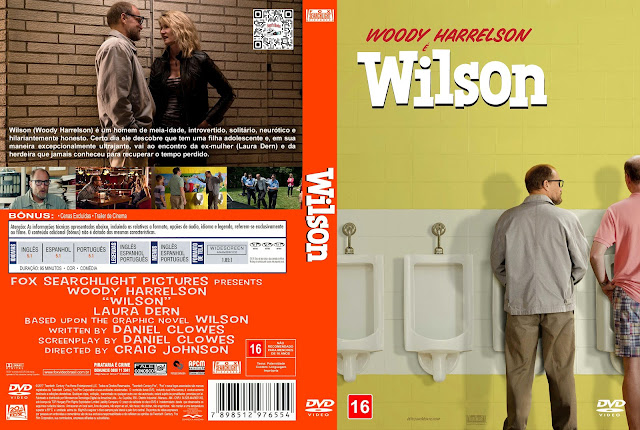 Capa DVD Wilson [Exclusiva]