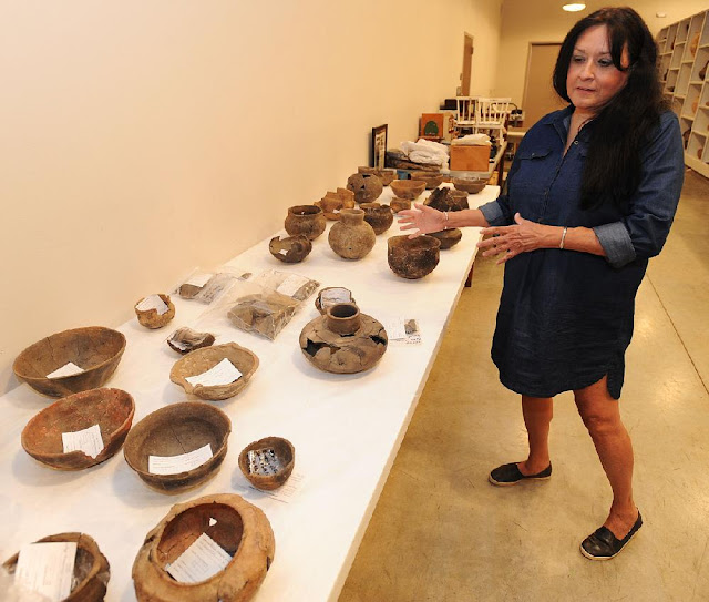 Arkansas Agency returning tribal artefacts