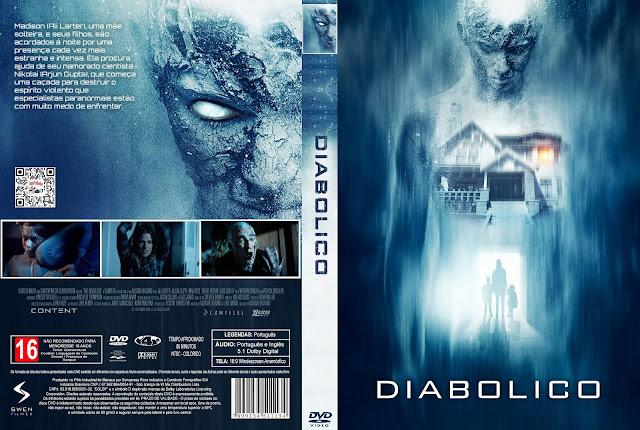 Capa DVD Diabólico [Custom]