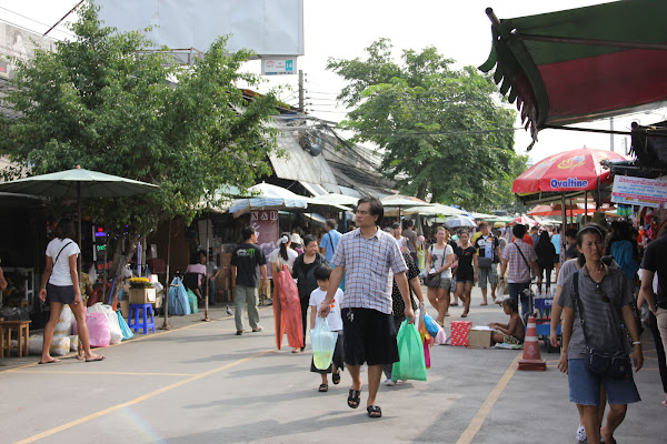 Mercadillos de Bangkok mercado Chatuchak