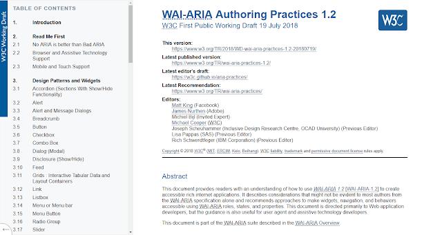 Borrador de WAI-ARIA 1.2