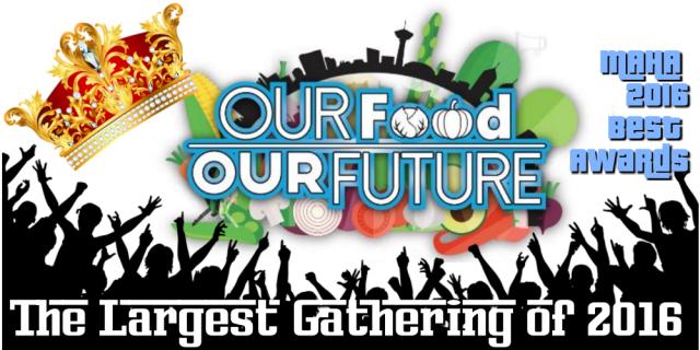 bernas, blogretis, byrawlins, Laman Nanas, Laman Padi, MAHA, MAHA 2016, Nafas Cube @ Mardi, Our Food Our Future, Perikanan, Tourism, Upin dan Ipin, Wellness, MAHA 2016 Malaysia, largest gathering, awards, MAMA 2016