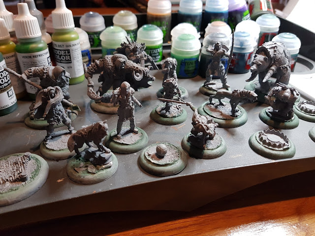 Random Nerdery - Guild Ball - Hunters - Unpainted