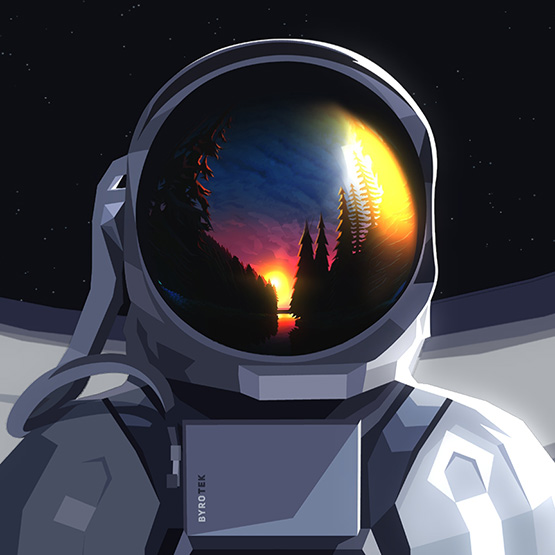 Spaceman Wallpaper Engine