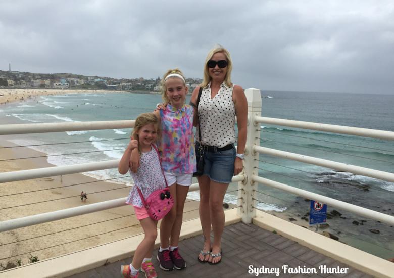 Sydney Fashion Hunter and friends at Bondi Beach