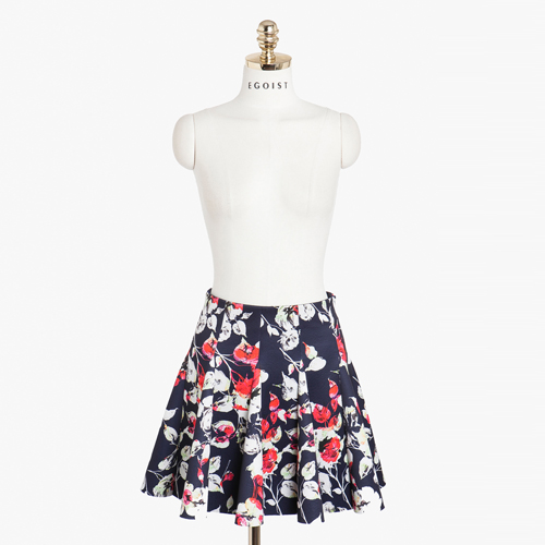 Neoprene Floral Skirt