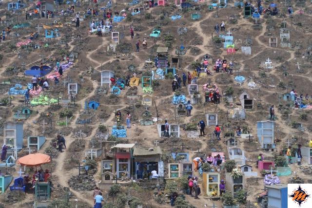 Lima, Cementerio de Nueva Esperanza. Area riservata ai neonati