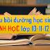 TÀI LIỆU GIẢNG DẠY BỒI DƯỠNG HỌC SINH GIỎI SINH HỌC THPT (lớp10-11-12)