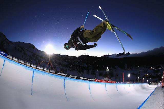 Ski Freestyle - Half pipe - Photo : SB Nation