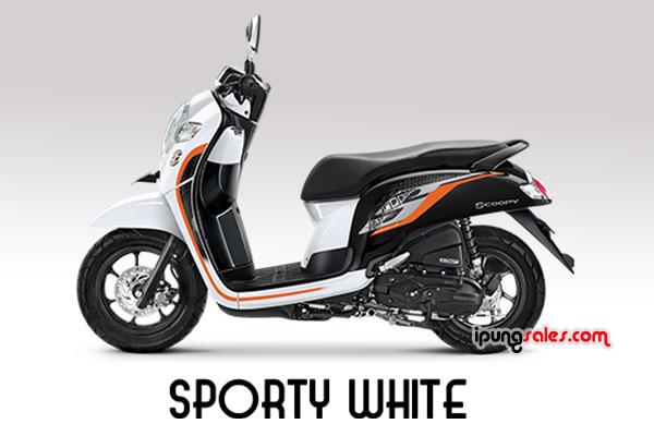 Honda-Scoopy-2019-sporty-white