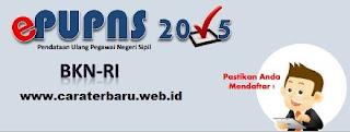 Formulir Untuk Pendataan e-PUPNS Tahun 2015
