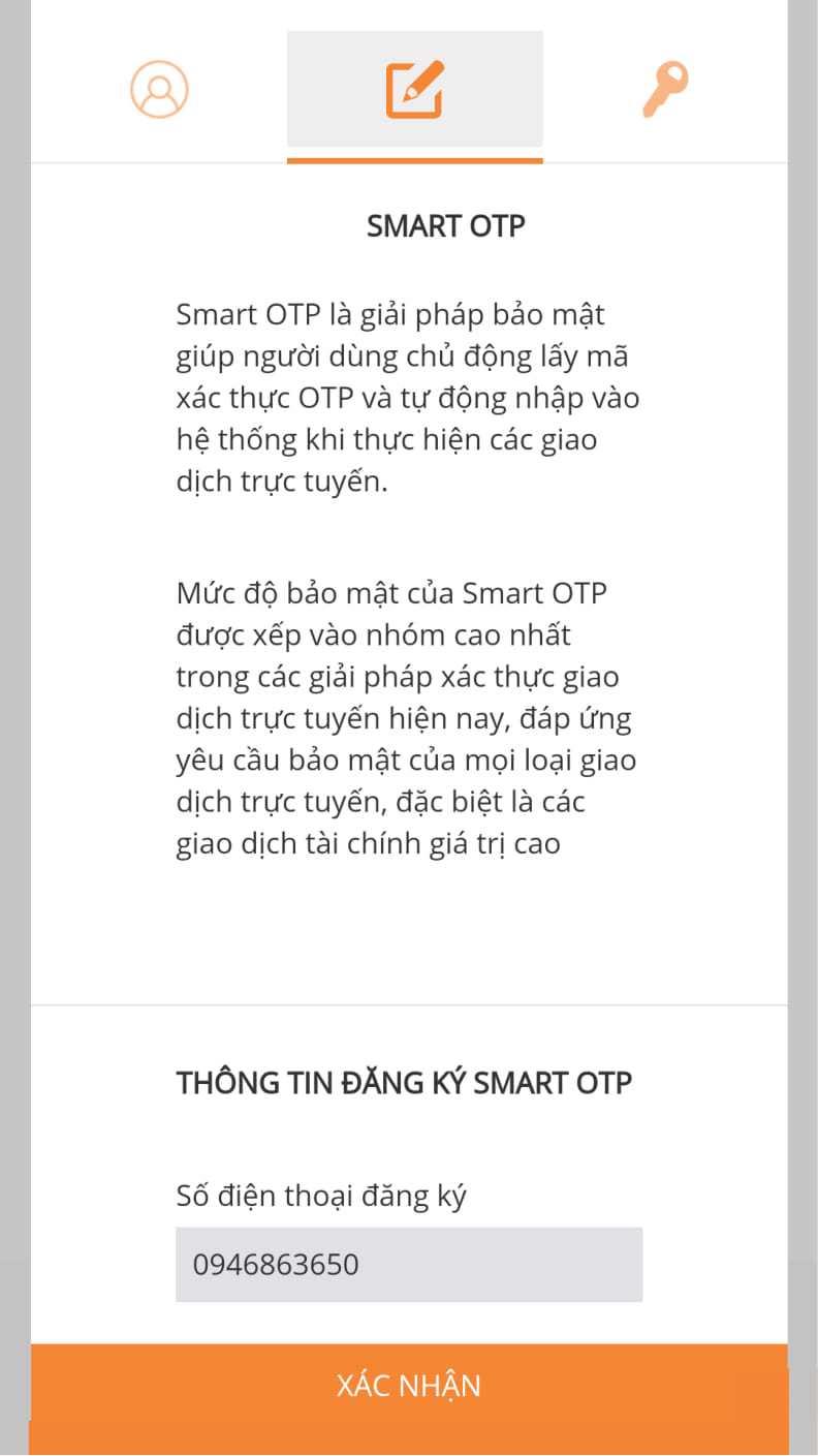 smart otp shb