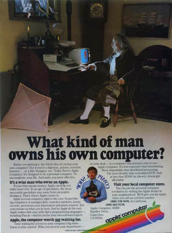 Vintage Apple Ads in the 1970s and 1980s ~ vintage everyday