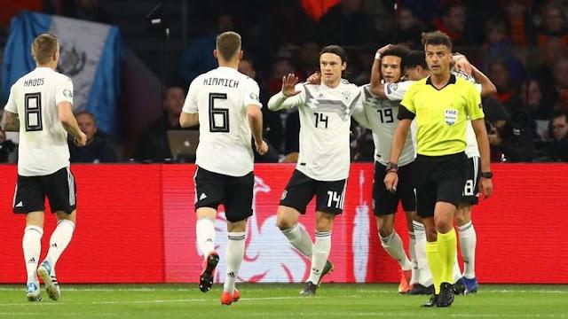 Hasil Kualifikasi Piala Eropa: Seru, Jerman Tumbangkan Belanda 3-2