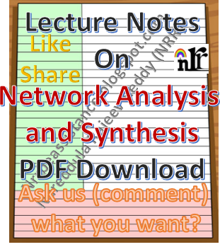 Network Analysis And Synthesis Pdf