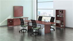 MNC8 Medina Power Ready Conference Table at OfficeAnything.com