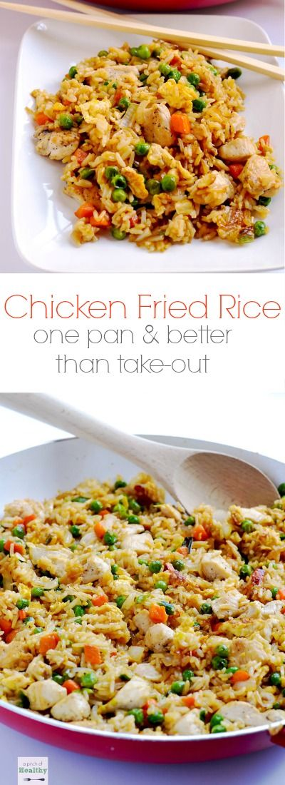 Chicken Fried Rice {better thân tâke-out!} #Chicken #friedrice #chickenfriedrice #easyrecipes #easydinnerrecipes #dinnerideas