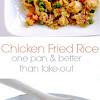 Chicken Fried Rice {better thân tâke-out!}