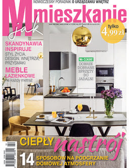 Domek  za  lasem  w  czasopiśmie M jak  mieszkanie.