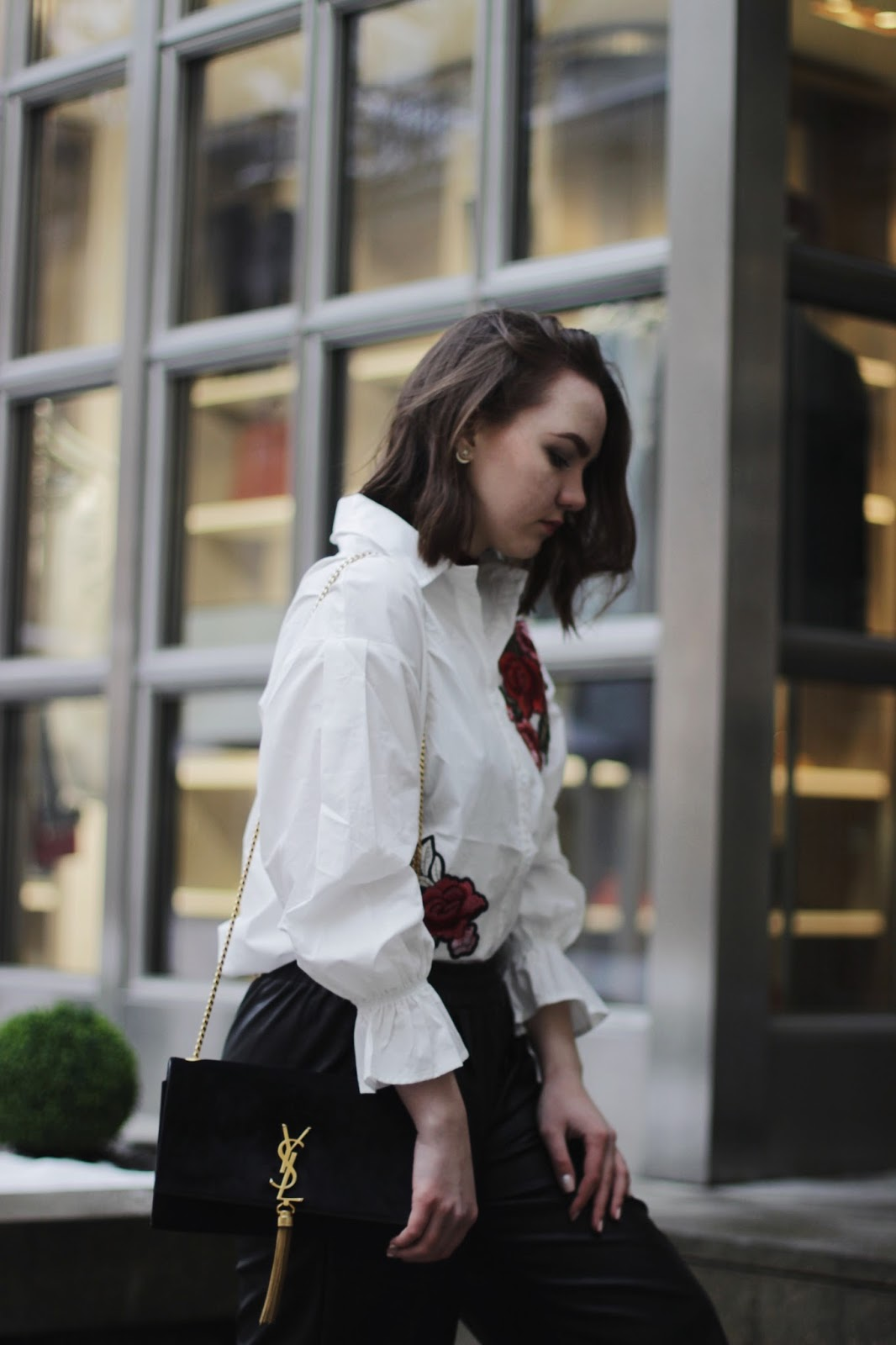 Embroidery Shirt | Fashion Blogger