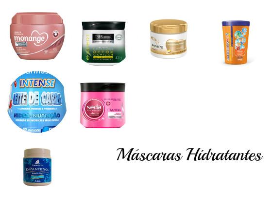 mascaras hidratantes cronograma capilar low poo