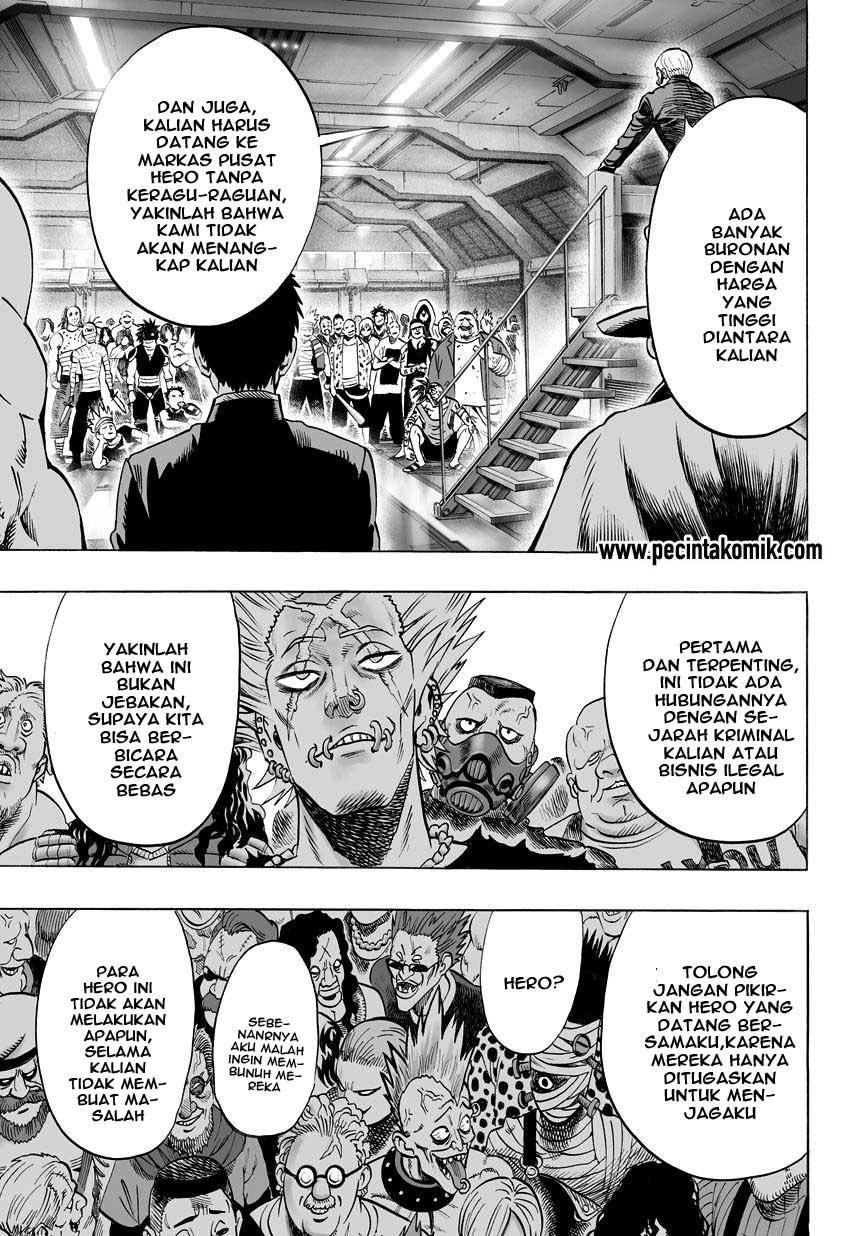 Baca Komik One Punch Man Chapter 55 Bahasa Indonesia