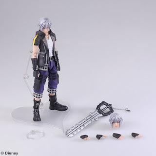 """Abierto pre-order de Bring Arts de Riku de """"Kingdom Hearts"""" - Square Enix"""