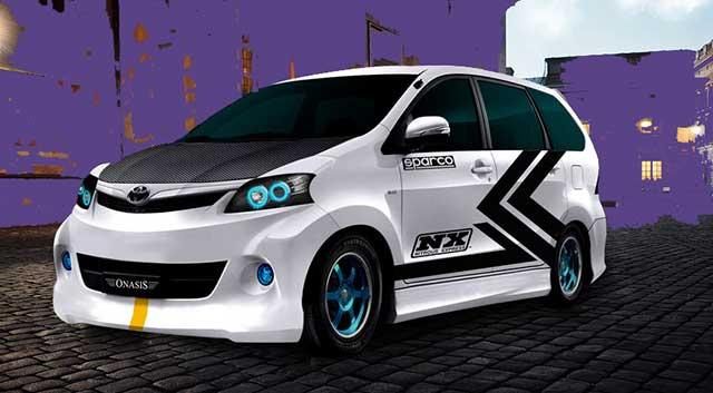 Modifikasi Mobil Toyota Avanza Terkeren  Berita Otomotif