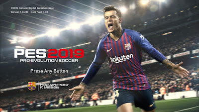 PES 2017 Theme PES 2019 Demo Official Graphic Menu