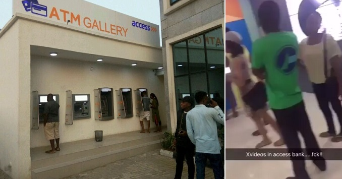 ATMs-1 Access Bank Reacts To P*rn Played On ATM Screen At Unilag Branch