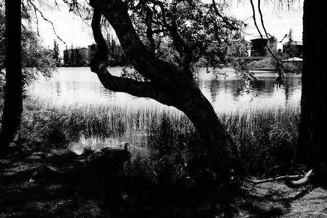 Szczyrbskie jezioro, Tatry, Słowacja. Fotografia, krajobraz. fot. Łukasz Cyrus