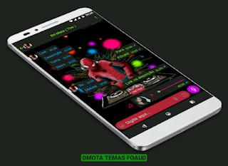 Spiderman DJ Theme For YOWhatsApp & Fouad WhatsApp By DMota