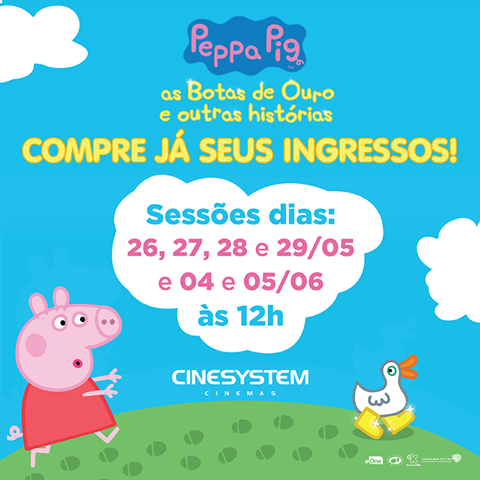 Peppa Pig - As Botas de Ouro e Outras Histórias Paulista North Way Shopping