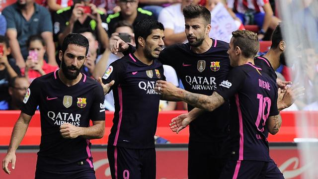 [Video] Cuplikan Gol Sporting Gijon 0-5 Barcelona (Liga Spanyol)