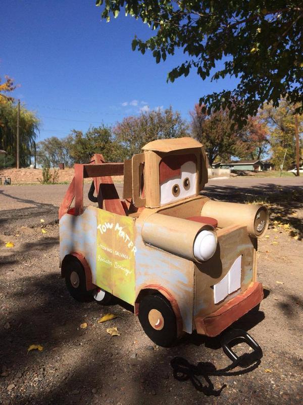 DIY Cardboard Mater Costume