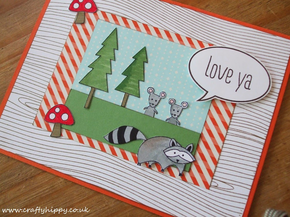 Life in the Forest, Stampin' Up!