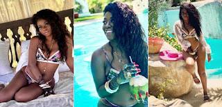 Davido's Baby Mama Shares Bikini-Themed Photos From Vacation