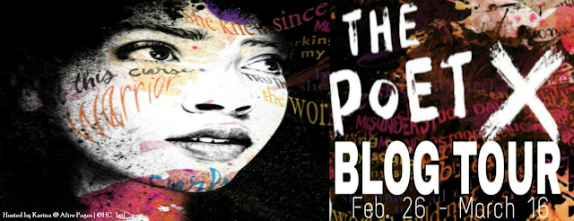 "Blog Tour: ""The Poet X"" by Elizabeth Acevedo (+Giveaway)"