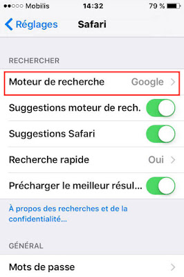 طريقة-تغيير-محرك-البحث-الافتراضي-في-متصفح-سفاري-Safari-على-هاتف-ايفون-iOS-2