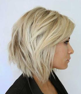 model rambut pendek untuk wajah persegi