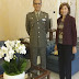 Bari. Il neo Prefetto di Bari Magno incontra il Gen. Prezioso