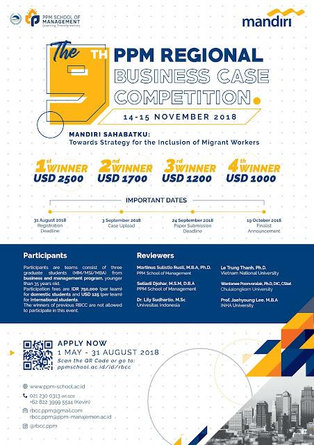 Kompetisi Bisnis Se-Asia dengan total hadiah 90Juta!