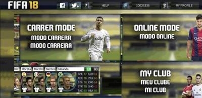 DLS 17 Apk + Obb Data Mod FIFA 18 Android Terbaru