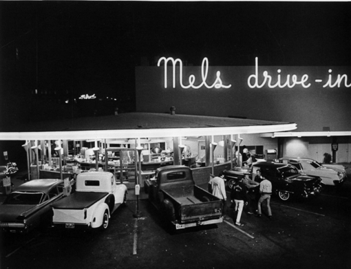 Mels Drive In San Francisco C1958 Painting by Melvin Hale ArtistLA