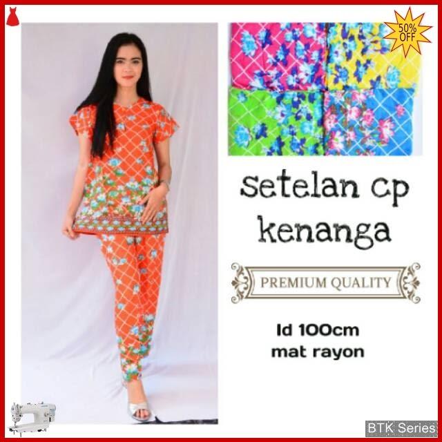 BTK134 Baju Setelan Panjang Kenanga Baju Murah Murah BMGShop