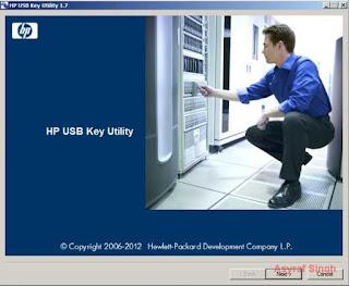 HP USB Key Utility