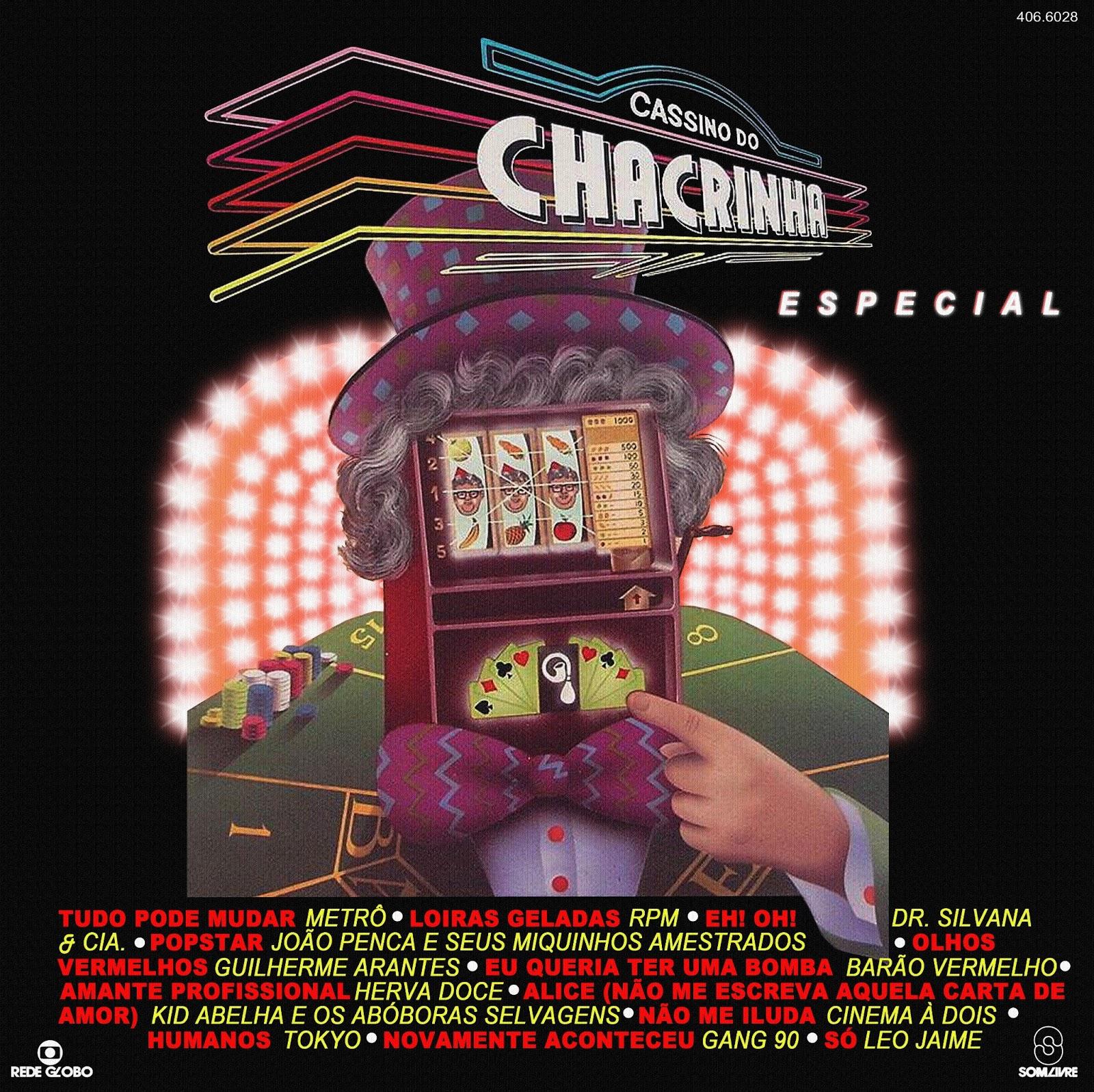 Resultado de imagem para lp cd cassino do chacrinha especial