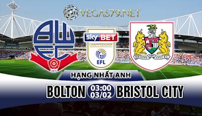 Nhận định - Soi kèo: Bolton vs Bristol City