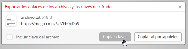 Link de descarga sin clave de cifrado